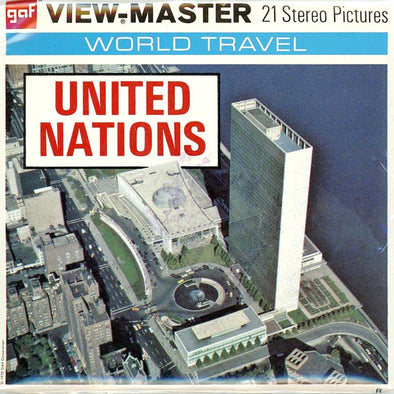 View-Master - Scenic - East - United Nations