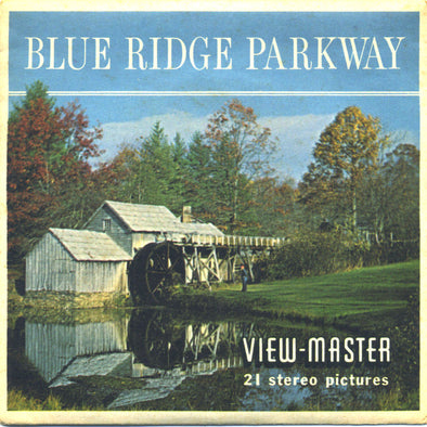 Blue Ridge Parkway - Vintage Classic View-Master® - 3 Reel Packet - 1960s Views
