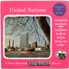 United Nations - New York - Vacationland Series - Vintage Classic View-Master - 3 Reel Packet - 1950's view