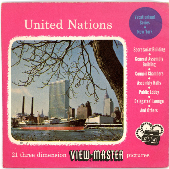View-Master - Scenic - East - United Nations Vacationland