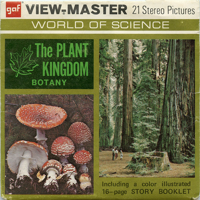 Plant Kingdom - Botany -B680- Vintage Classic View-Master(R) 3 Reel Packet - 1960s views