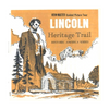 Lincoln Heritage Trail - A390 - Vintage Classic View-Master - 3 Reel Packet - 1960s Views