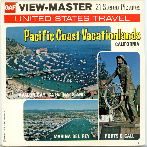 View-Master - Scenic West - Pacific Coast Vacationlands