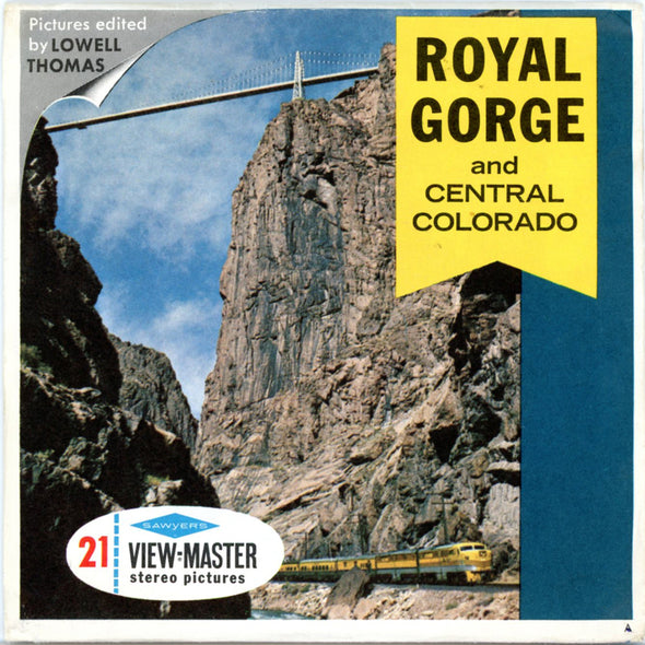 View-Master - Scenic West - Royal Gorge