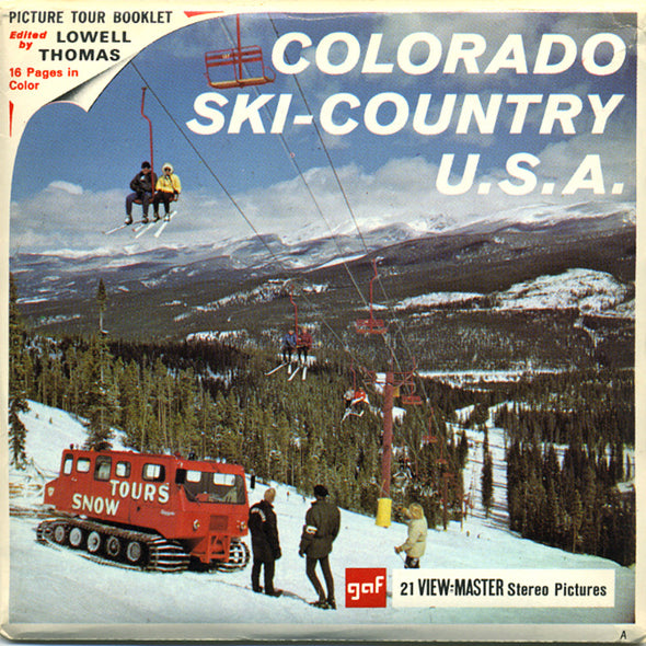 View-Master - Sports - Colorado Ski-Country U.S.A.