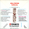 ViewMaster - Hollywood - H64 - Vintage - 3 Reel Packet - 1970s Views
