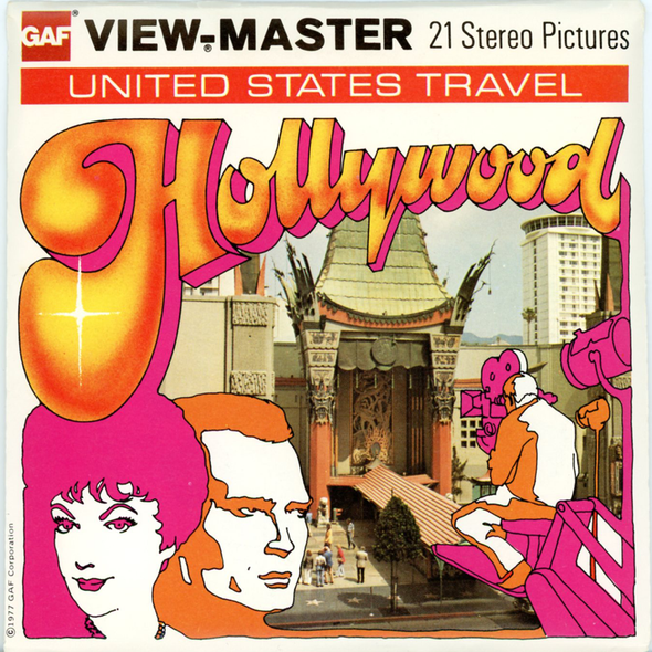 View-Master - Scenic West - Hollywood