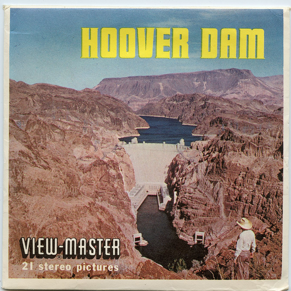 View-Master - Scenic West - Hoover Dam