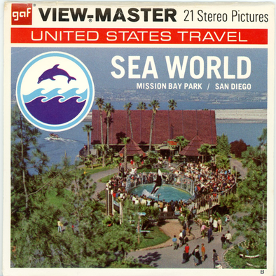 Sea World-Mission Bay Park-San Diego- A192 - Vintage Classic View-Master® - 3 Reel Packet - 1970s Views