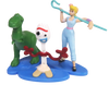 toy Story 4 mini - 5 figurines  Bo Peep,Rex Forky