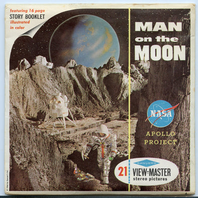 View-Master - Space and Aviation - Man on the Moon