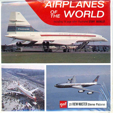 View-Master - Space and Aviation - Airplanes of the World