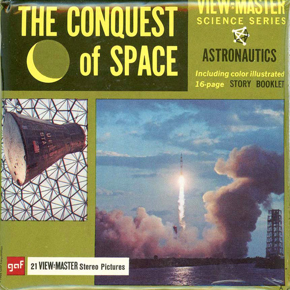 View-Master - Space and Aviation - The Conquest of Space
