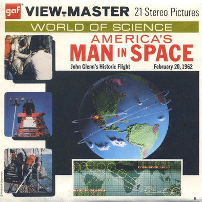 View-Master - History - America's Man in Space