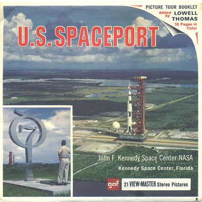 View-Master - Space and Aviation - U.S.Spaceport