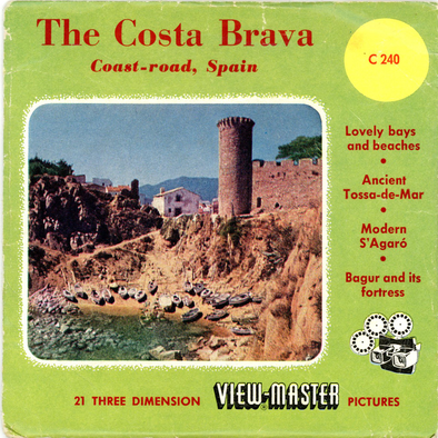 View-Master - SPAIN - The Costa Brava
