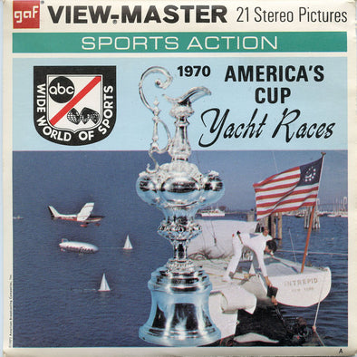 View-Master - Sports - America's cup - Yacht Races
