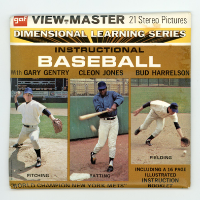 View-Master - Sport - Instructional - Baseball