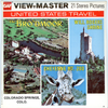 View-Master - Scenic West - The Brodmoor hotel , Cheyenne Mt. Zoo and Will Rogers Shrine Colorado