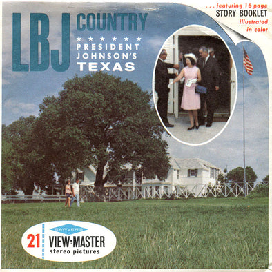 View-Master - Scenic South - LBJ Contry - Texas