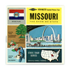 Missouri - Map Series - A450 - Vintage Classic View-Master - 3 Reel Packet - 1960s views