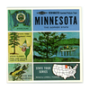 ViewMaster - Minnesota - Map Series - A510 - Vintage  - 1960s views