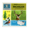 ViewMaster - Michigan - Map Series - A580 - Vintage - 3 Reel Packet - 1960s views