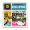 New Hampshire - Map Series - A700 -  Vintage Classic View-Master - 3 Reel Packet - 1960's views