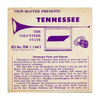 ViewMaster - Tennessee - Vacationland Series - A875 - Vintage Classic View-Master - 3 Reel Packet - 1960s Views