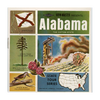 ViewMaster Alabama - Map Series -  A925 - Vintage  - 3 Reel Packet - 1960s Views