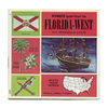 ViewMaster - Florida - West - Map Series - A959 - Vintage - 3 Reel Packet - 1960s Views