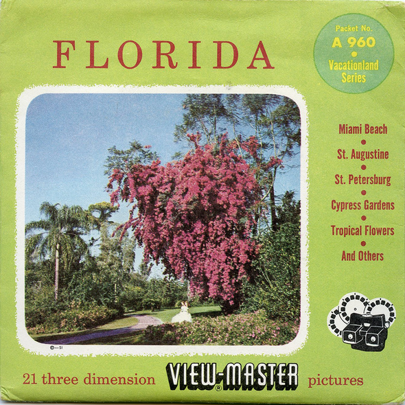 View-Master - Scenic South - Florida