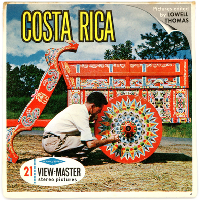 Costa Rica - Vintage Classic View-Master(R) 3 Reel Packet - 1960s views