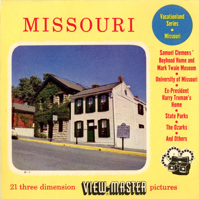 View-Master - Scenic Mid West - Missouri Vacationaland
