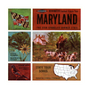 Maryland - Map Series - A780 - Vintage Classic View-Master - 3 Reel Packet - 1960s Views