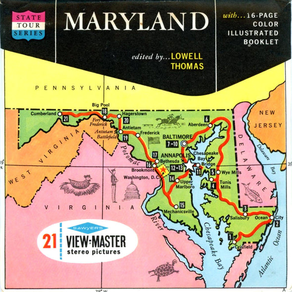 View-Master - Scenic South - Maryland