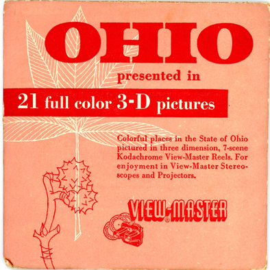 Ohio - State - Vintage Classic View-Master(R) 3 Reel Packet - 1950s views