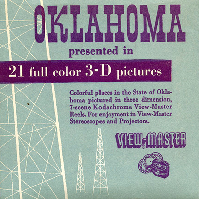 Oklahoma - Vintage Classic View-Master(R) 3 Reel Packet - 1950s views