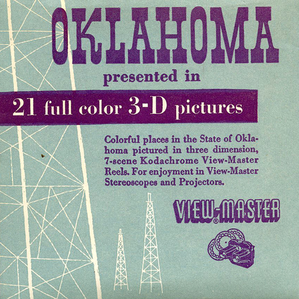 View-Master - Scenic South - Oklahoma