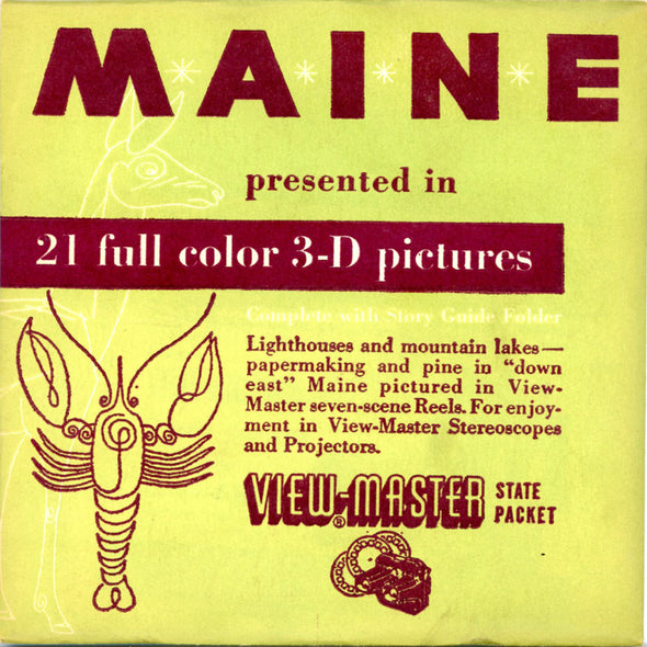 View-Master - Scenic - East - Maine