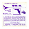 ViewMaster - Florida State - Vacationland Series -  A960 - Vintage - 3 Reel Packet - 1950s Views