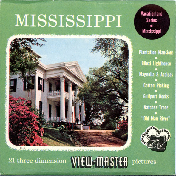View-Master - Scenic South - Mississippi Vacationlad