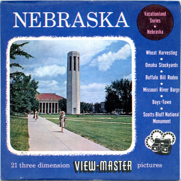 View-Master - Scenic Mid West -Nebraska Vacationland