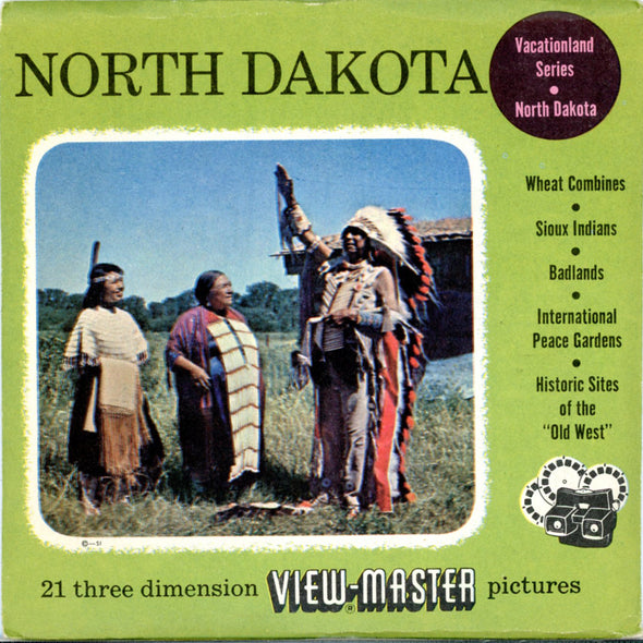 View-Master - Scenic Mid West - North Dakota Vacationland