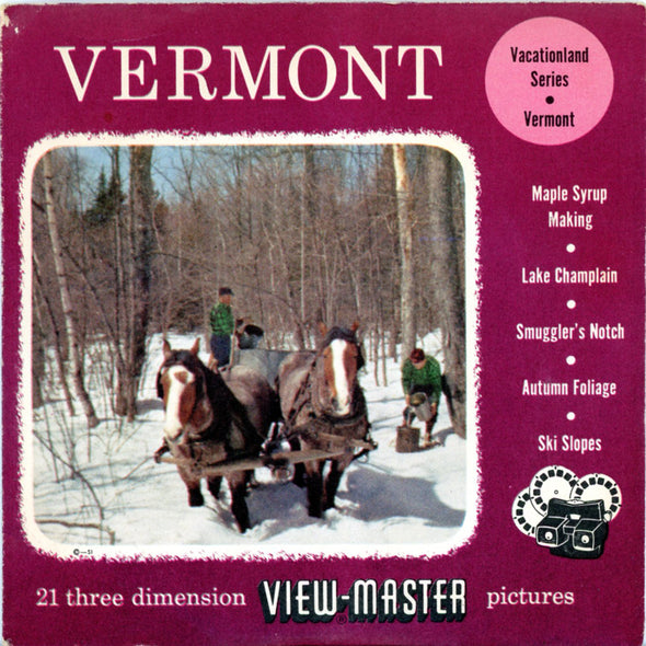 View-Master - Scenic - East - Vermont - Vacationlad Series