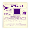Wyoming - Vacationland Series - Classic View-Master 3Reel Packet - 1950s Views