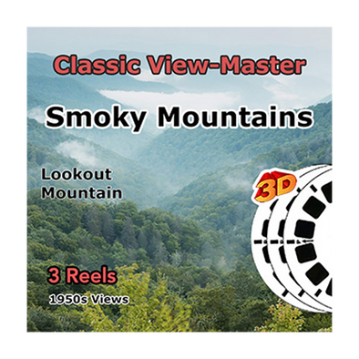 Smoky Mountains National Park - Lookout Mountain - Vintage Classic View-Master - 1950s views