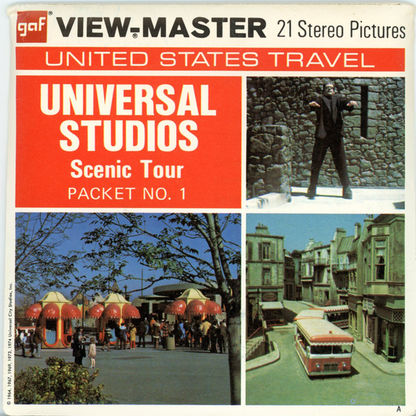 View-Master - Scenic West - Universal Studios