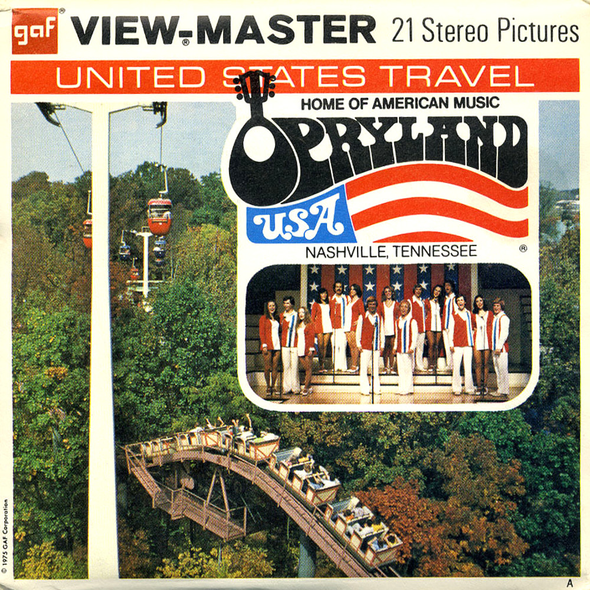 View-Master - Scenic South - Opryland USA Nashville Tennessee