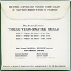 ViewMaster - Water Ski Show - Cypress Gardens - A976 - Vintage - 3 Reel Packet - 1950s views